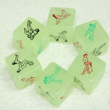 Luminous Dice Toy Fun Bachelor Party Adult Novelty Gift - Bachelorette games prize? or adult pinata stuffer?