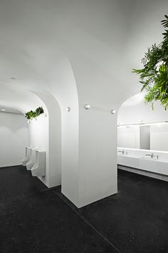 ida & billy design sustainable washrooms for mix-use complex in guangzhou