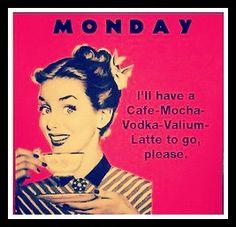 ohnee...niet weer maandag he! #etzetera #monday
