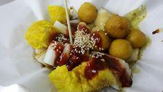 Streest popular foods  hk