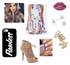"""""""Untitled #10"""" by gabriellecute ❤ liked on Polyvore featuring Lime Crime, Apt. 9, Amanda Rose Collection and Topshop"""