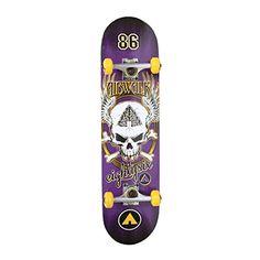 Airwalk Undone Skull Skateboard Purple * For more information, visit image link.