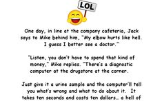 The all-to-honest diagnostic computer - Funny Joke - adult, computer, Joke Motivational Quotes For Success, Inspirational Quotes, Positive Thoughts, Positive Quotes, Funny Long Jokes, Hilarious Jokes, Joke Stories, Computer Humor, Humor