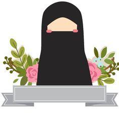 Muslim Girls, Muslim Couples, Muslim Family, Hijab Drawing, Islam Marriage, Islamic Cartoon, Anime Muslim, Hijab Cartoon, Cute Love Pictures