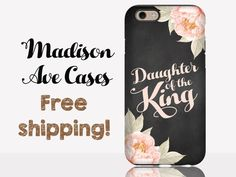 Daughter Of The King Jesus Christian Quote by MadisonAveCases