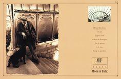Campagna pubblicitaria tabellare per il marchio italiano di sportwear, BELFE. Art director: Mauro Giammarini Copywriter: Stanislao Porzio Photo: Claus Wickrath