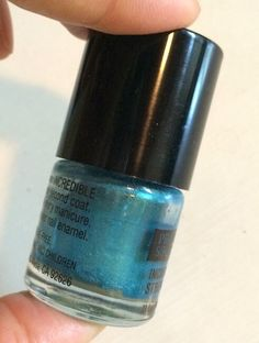 Easy DIY Nail Polish Color | Maximum DIY Diy Nail Polish, Nail Polish Colors, Diy Nails, Teal Blue, Easy Diy, Eyeshadow, Nail Paint Shades, Eye Shadows, Eyeshadow Looks