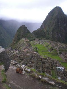Machu Picchu ~ Cusco, Peru.  South America Trip - Jan 2009