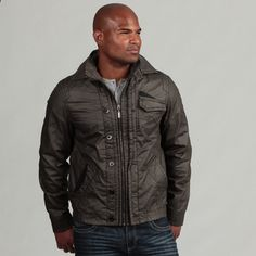 @Overstock - Look good and stay warm in this stylish insulated jacket from Xray Jeans, featuring a full zipper- and button-front entry. This sweater highlights a three-pocket design with contrast textured pocket detail on two of three pockets.http://www.overstock.com/Clothing-Shoes/XRay-Jeans-Mens-Zip-up-Insulated-Jacket/6807854/product.html?CID=214117 $67.99