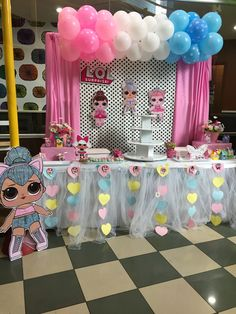 Spa Birthday Parties, 5th Birthday Party Ideas, 9th Birthday, Birthday Party Decorations, Surprise Birthday, Little Girl Birthday, Bday Girl, Bubble Guppies Birthday, Doll Party