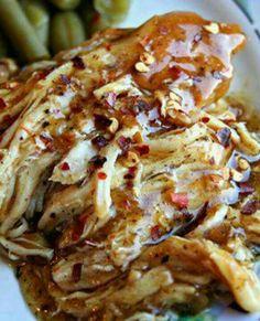 Garlic sweet crock pot chicken
