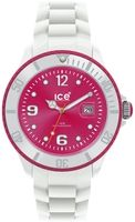 Ice-Watch Unisex Ice-White SI.WP.B.S.11 White Silicone Quartz Watch with Pink Dial. $112.50 - $125.00