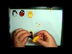 Stampin Up Easter Chick Tutorial - YouTube