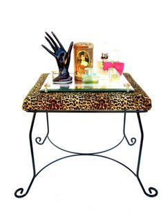 VINTAGE Lucite Vanity Mirror Hollywood Regency by ElectricMarigold