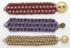 Beaded Bracelet Tutorial Net Options Digital by JewelryTales