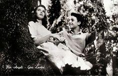 Pier Angeli and Gino Leurini in Domani è troppo tardi (1950). Italian postcard. Photo: M.G.M. Publicity still for <i>Domani è troppo tardi/Tomorrow Is Too Late</i> (Léonide Moguy, 1950).