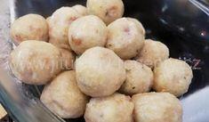 Kulaté knedlíky bez vajec Dumplings, Pizza, Potatoes, Bread, Vegetables, Food, Club, Potato, Brot
