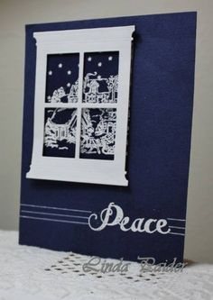 CAS200PARTYF Silent Night by Holstein - Cards and Paper Crafts at Splitcoaststampers
