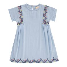 Laos Embroidered Dress Simple Kids Teen Children- A large selection of Fashion on Smallable, the Family Concept Store - More than 600 brands.