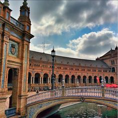 The architecture of Seville- #TravelMonk experienced a lot of character in Spain.