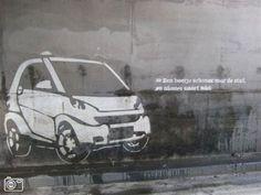 smart car guerrilla marketing