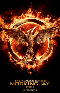 It's OFFICIAL! New #Mockingjay poster released today!