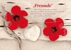 Freunde - Postkarten - Grafik Werkstatt Bielefeld