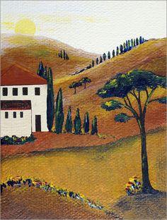 Christine Huwer - Die Farben der Toskana