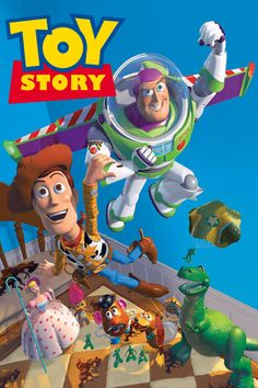 Woody (Tom Hanks), an old-fashioned cowboy doll, is Andy's favorite. But when Andy gets Buzz Lightyear (Tim Allen) for his birthday, the flashy new space hero takes Andy's room by storm! Their rivalry leaves them lost with a toy's worst nightmare -- Sid, the toy-torturing boy next door. Woody and Buzz must work together to escape, realizing along the way that they've got a friend ... in each other!