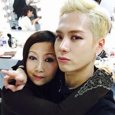 |GOT7| Jackson Wang with mom #got7 #jackson