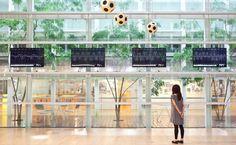 Art ― Environment ― Life, una instalación de tres partes realizada por Ryuichi Sakamoto y Shiro Takatani.