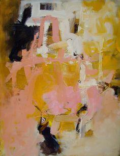Large Oil Painting Original Abstract Modern by JennyGrayArt, $400.00