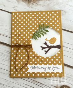 Stamping Together At Monika's Place – Sharing my Creativity with You - SU - Swirly Bird