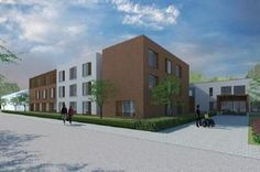 Architectura - Bouwproces WZC Zonnestraal in Lint verloopt in 3 fases / CENERGIE