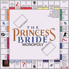 The Princess Bride Monopoly