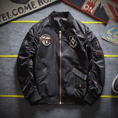 80%+ OFF Sale All of Our Bomber Jackets Collection. Sale Valid Only For Next 12 Hours!  Limited Quantity!! Army Green Bomber Jacket, Bomber Jackets, Motorcycle Jacket, Patches, Military, Collection, Products, Fashion, Moda