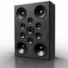 Audiophile Speakers, Diy Speakers, Hifi Audio, Built In Speakers, Speaker Box Design, High End Audio, Loudspeaker, Audio System, Apple Tv