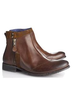 Boots cuir  Cuoio by IKKS