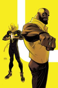 Power Man & Iron Fist by Andrew Robinson