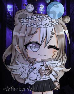 Lolis Neko, Wal Paper, Blue Wallpaper Iphone, Anime Wolf Girl, Cute Pokemon Wallpaper, Cute Anime Chibi, Anime Best Friends, Miraculous Ladybug Anime, Kawaii Drawings