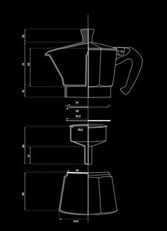 A Bialetti. every kitchen should have one of these original Italian coffee makers. The Bialetti Moka celebrates more than 75 years of classic design elegance and technological simplicity. Coffee Love, Coffee Shop, Coffee Maker, Coffee Geek, Black Coffee, Best Coffee, Menue Design, Plakat Design, Design Graphique
