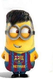 Neymar as a minion....cute!!!