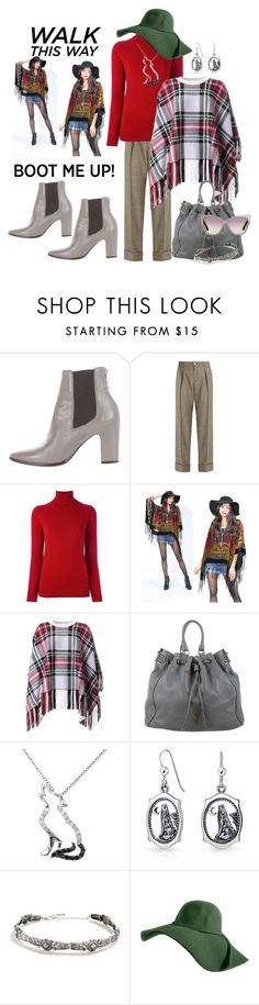 """Kick It: Chelsea Boots"" by lexuslady on Polyvore featuring Balenciaga, Gucci, Allude, Chloé, Christian Louboutin, Malin + Mila, Bling Jewelry, LULUS and Tom Ford"