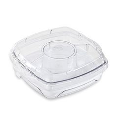 Small Square Cool & Serve item 2613-have fresh fruit and veggies with dip for your outings with out bugs!!! contact me for info www.pamperedchef.biz/maura