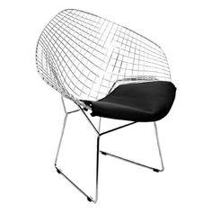 Fauteuil Diamond Lounge Harry Bertoia 1952
