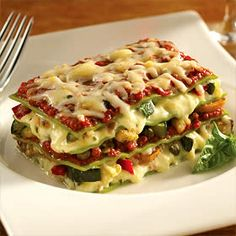Fast and Easy Vegetable Lasagna Recipe You can make this recipe in no time so it is great for busy people on the go. This recipe is easy to make.
