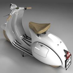 OK, it's CGI'd - but still looks nice though eh. - All things Lambretta & Vespa Piaggio Vespa, Moto Vespa, Vespa Vbb, Vespa Scooters, Scooter Bike, Lambretta Scooter, Motor Scooters, Vespa Vintage, Vintage Bikes