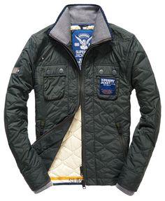Superdry Nylon Quilt Jacket