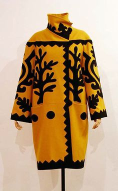 Coat  Designer: Christian Lacroix (French, born 1951) Date: ca. 2003 Culture: French Medium: wool Dimensions: Length at CB: 45 in. (114.3 cm)