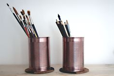 tin cans for your desk - www.craftifair.com